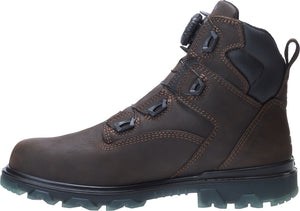 "WOLVERINE MEN'S I-90 EPX BOA WATERPROOF CARBONMAX COMPOSITE TOE 6"" WORK BOOT"