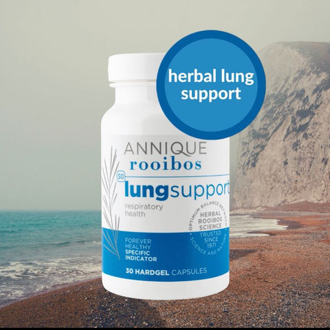 Annique rooibos lung support