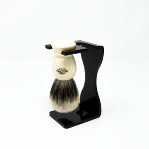 Load image into Gallery viewer, Acrylic Shaving Brush and Razor Stand (Double)