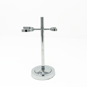 SS007 Yaqi Thin Chrome Shaving Brush And Razor Stand
