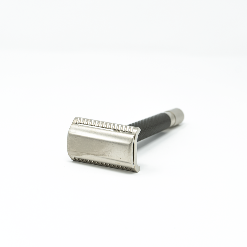Load image into Gallery viewer, Parker 55SL-GR Semi-Slant Safety Razor Graphite