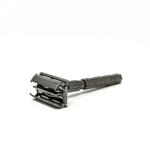 Parker Safety Razor, Butterfly Open, Gunmetal 22R