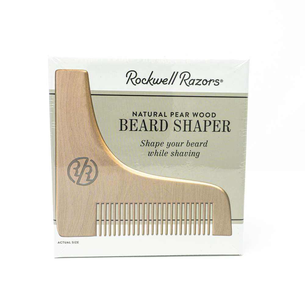 Rockwell Pear Wood Beard Shaper