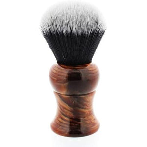 Yaqi Mixed Red Handle Tuxedo Brush 28mm Knot