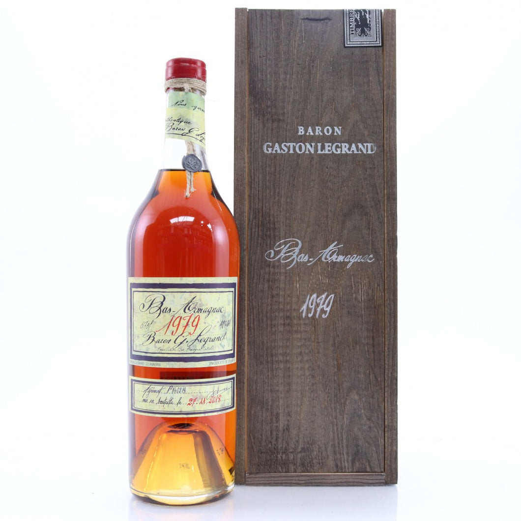 Bas-Armagnac Baron Gaston Legrand 1979 700 ml.