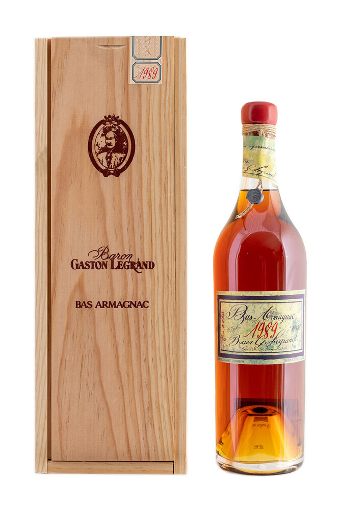 Bas-Armagnac Baron Gaston Legrand 1989 700 ml.