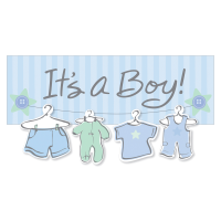 Births & Baby Shower Banners