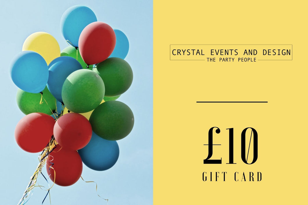 £10 Digital Gift Card