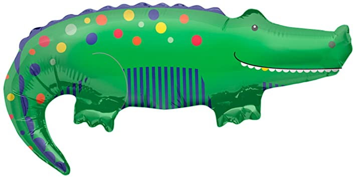 CROCODILE SUPERSHAPE FOIL BALLOON