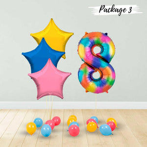 Rainbow Number Gift Package