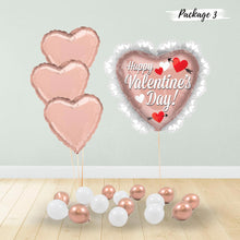 Load image into Gallery viewer, Rose Gold Hearts Package