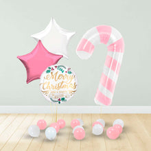 Load image into Gallery viewer, Pink Candy Cane Xmas Package
