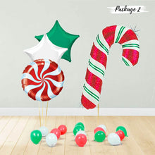 Load image into Gallery viewer, Holographic Red Candy Cane Package