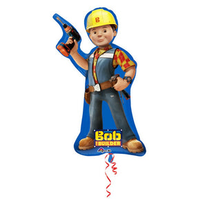 35 INCH BOB THE BUILDER SUPERSHAPE FOIL BALLOON
