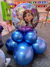Load image into Gallery viewer, 18 INCH FROZEN HAPPY BIRTHDAY FOIL BALLOON