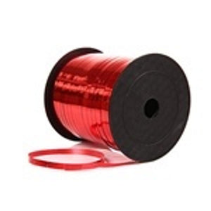 CURLING RIBBON 5mm x 1.5m METALLIC RED