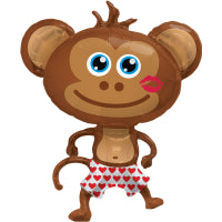 "41"" SUPERSHAPE HUNKY MONKEY BALLOON"