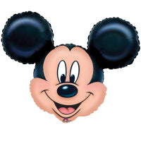 "SUPER SHAPE MICKEY MOUSE 27""/69cm w x 21""/53cm h"