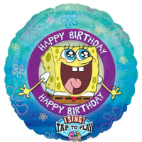 "28""  SATB SPONGEBOB BIRTHDAY"