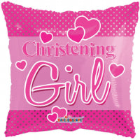 "18"" CHRISTENING GIRL FOIL BALLOON"
