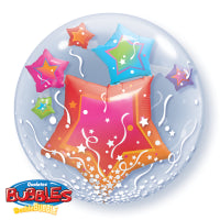 "24""  DOUBLE BUBBLE  STARS & STREAMERS"