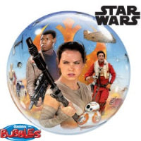 "22"" BUBBLE STAR WARS THE FORCE AWAKENS"