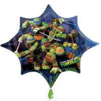 SUPER SHAPE FOIL BALLOON NINJA TURTLES