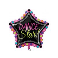 "DANCE STAR SUPER SHAPE 30""/76cm w x 30""/76cm h"