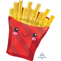 FRENCH FRIES SUPERSHAPE 58cm w x 71cm h