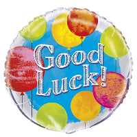 "18"" FOIL BALLOON BRIGHT GOOD LUCK"