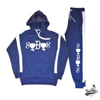 SoBos Sweatsuit (Royal Blue/White)