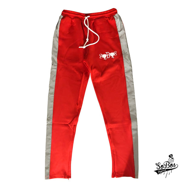 SoBos 3M Trackpants(Red)