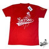 SoBos Logo T Shirt (Red/White)