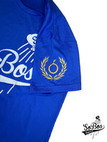 SoBos Logo T Shirt (Royal Blue/White)