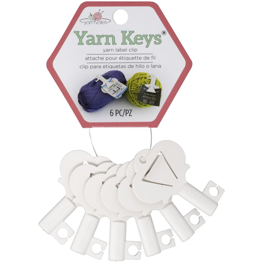 YARN KEYS <br> Llaves porta etiquetas