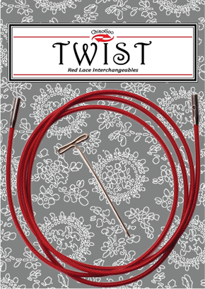 Cable <br> Palillos Intercambiables Twist 125 cm