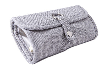 Estuche Para Crochets <br> Grey Tweed