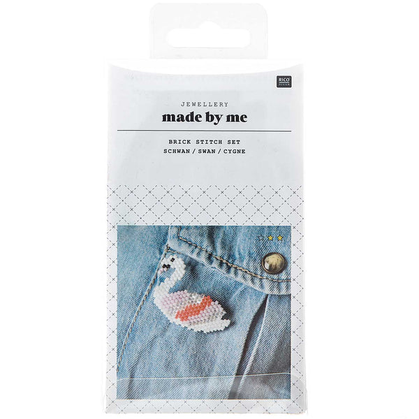 "Kit ""Brick Stitch"" Prendedor <br> Cisne"