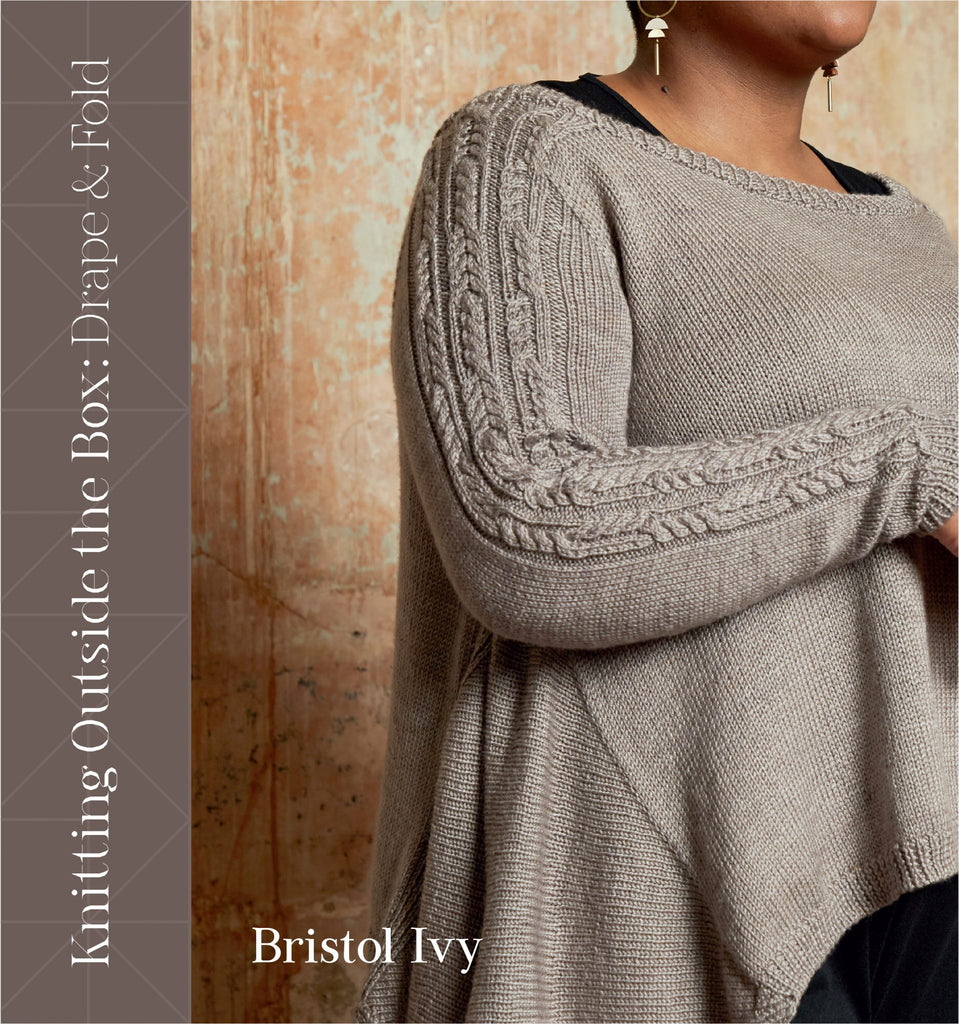 "Libro ""Knitting Outside The Box: Drape and Fold"" <br> Bristol Ivy"