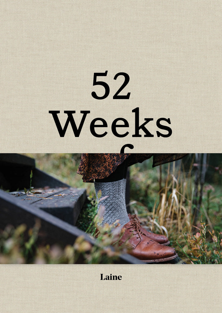 "Libro ""52 Weeks of Socks"" <br> Laine"