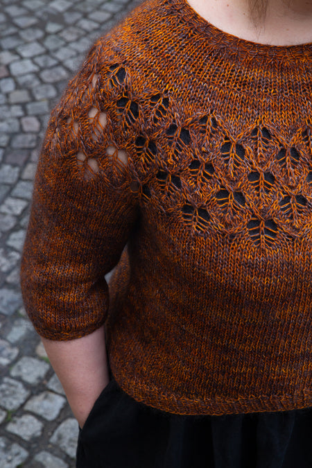 "Patrón Sweater "" Love Note "" <br> Tin Can Knits"