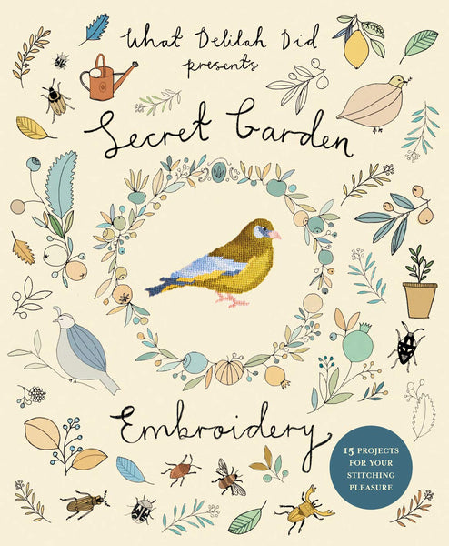 Secret Garden Embroidery <br> Sophie Simpson