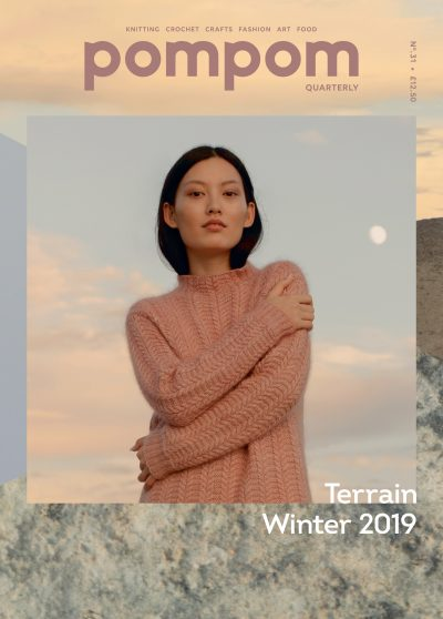 Revista Pompom Quarterly N°31 Invierno 2019 <br> Terraine Winter