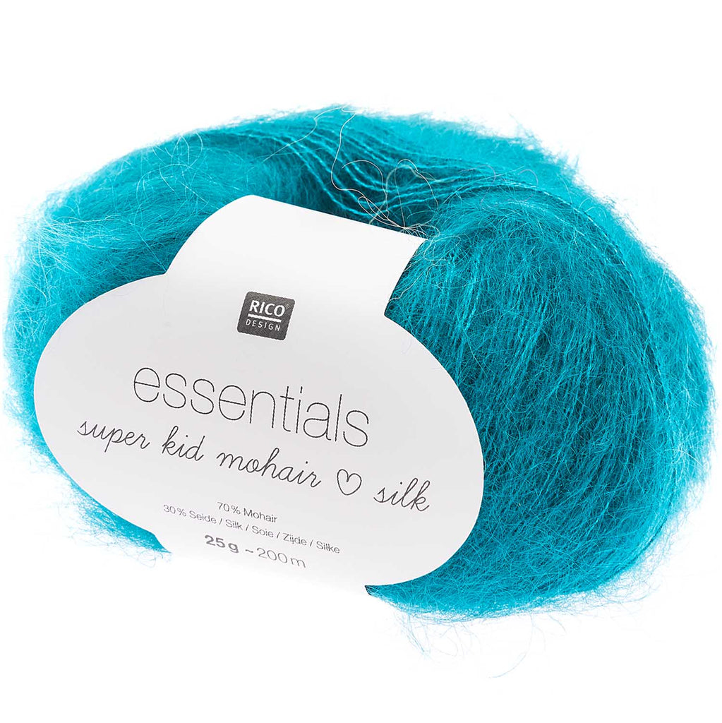 Essentials Super Kid Mohair Silk <br> (70% Mohair / 30% Seda)