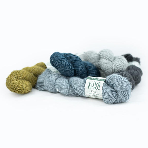 WILD WOOL <br> (85% Lana / 15% Viscosa)