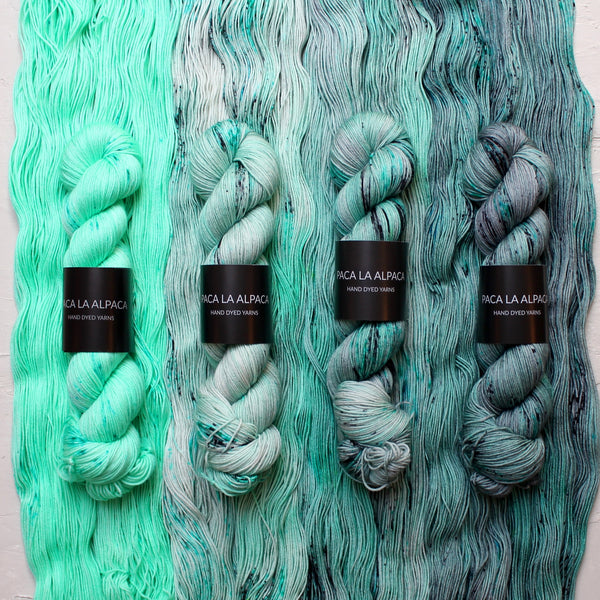 Geyser Fade Kit <br> 4 Madejas Sock en Degradé