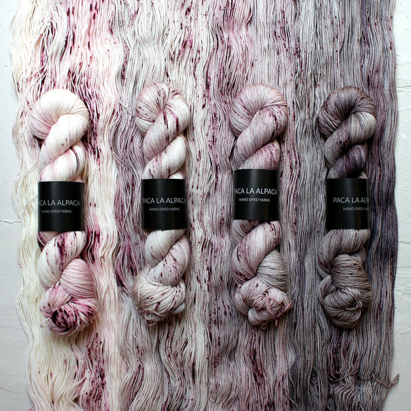 Mallow Fade Kit <br> 4 Madejas de Sock en Degradé