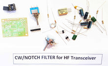 Load image into Gallery viewer, CW / NOTCH Filter for HF transceiver