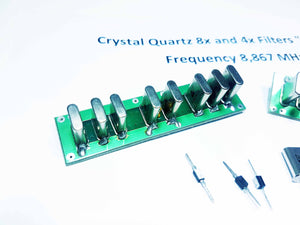 Quartz Crystal Ladder Filters 8.867 MHZ