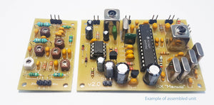Simple Dual-band Amateur Receiver 20m/80m